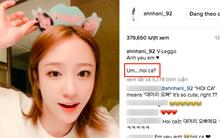 """Hani (EXID) bất ngờ lên Instagram hỏi về biệt danh """"Hói ca"""" fan Việt gọi mình sau concert"""