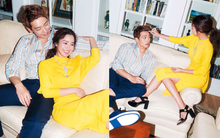 Kim Tae Hee và Bi Rain lộ khoảnh khắc chăm sóc nhau mùi mẫn hiếm hoi trên bìa tạp chí