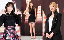 """""""Búp bê xứ Hàn"""" Han Chae Young khoe chân thon, Minzy cười tít mắt trong lần đầu xuất hiện"""