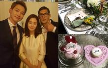Tiếp tục lộ loạt ảnh bên trong tiệc cưới của vợ chồng Kim Tae Hee và Bi Rain