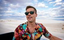 """Bộ ảnh """"sướt mướt"""" dễ mủi lòng là thế nhưng ai không để ý outfit toàn đồ hiệu mà Brad Pitt mặc thì hơi phí"""