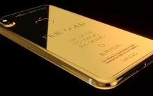 Chỉ đại gia mới có hứng thú thực sự với iPhone X phiên bản vàng ròng đính kim cương