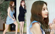 """""""Búp bê xứ Hàn"""" Han Chae Young lộ chân tay tong teo nhưng... vẫn đẹp như nữ thần"""