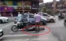 Hà Nội: Đôi nam nữ điều khiển xe máy tông cụ ông tử vong rồi bỏ chạy