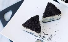 Trổ tài làm cheesecake Oreo chua dịu, ngọt, đắng đầy đủ cả