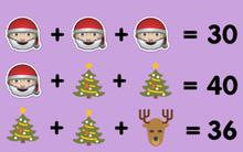 Bài toán ông già Noel và cây thông siêu dễ nhưng có tới 90% người lớn không giải được
