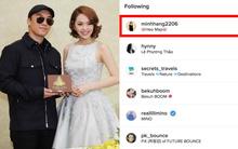 """Sau buổi gặp gỡ, Seungri cũng đã """"theo dõi"""" Minh Hằng trên Instagram"""