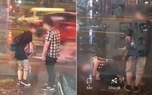 Hơn cả phim Hàn Quốc: Cặp đôi cãi nhau dưới mưa, chàng trai bất ngờ giả ngất để níu kéo bạn gái!