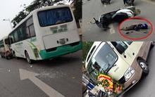 Hà Nội: Xe khách đâm xe tang lễ gây tai nạn liên hoàn, 1 người tử vong