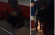 Clip: Bắt tận tay cụ già giả tàn tật để móc túi ở ga Hà Nội