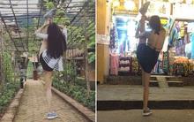 """Bộ ảnh """"Xoạc chân everywhere"""" siêu chất của 9x Nha Trang: Không phải cứ muốn là chụp được"""