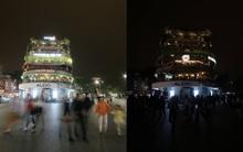 Ngắm Hà Nội - Sài Gòn: Trước và sau khi các điểm nổi tiếng đồng loạt tắt đèn nhân 10 năm Giờ Trái Đất