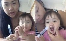 """Clip mẹ rửa mũi cho con: cứ tưởng tranh cãi gay gắt, ai ngờ lại """"gây sốt"""" vì lý do này"""