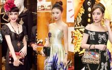 """Quỳnh Anh Shyn, Angela Phương Trinh, Chi Pu đua nhau ăn diện kiểu """"diễm tình"""" tại sự kiện Dolce"""