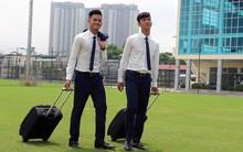 Tuyển thủ U20 Việt Nam ăn diện bảnh bao trước ngày sang Đức tập huấn