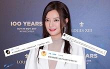 Triệu Vy gây phẫn nộ vì xuất hiện rạng rỡ và xinh đẹp tại sự kiện sau scandal gian lận chứng khoán