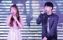 """Han Sara siêu đáng yêu cùng dàn trai đẹp Uni5 tại họp báo phim """"Thần tượng tuổi 300"""""""