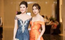 Bận rộn tại Miss World, Đỗ Mỹ Linh vẫn không quên ủng hộ tinh thần Huyền My trong đêm chung kết HH Hoà bình 2017