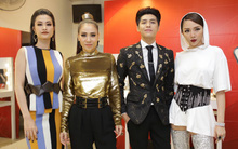 """Sau khi """"sóng gió"""" với thời trang quái, bộ tứ HLV The Voice Việt đã """"an toàn"""" trở lại ở vòng Đối đầu"""