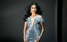 Đây là trang phục dạ hội mà Lệ Hằng mang đi chinh chiến tại Hoa hậu Hoàn vũ 2016