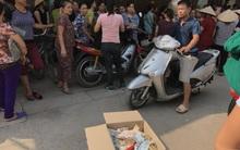 Người dân lập thùng quyên góp ủng hộ gia đình bé trai 33 ngày tuổi nghi bị sát hại
