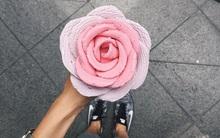 Ai mà tin nổi những bông hoa rực rỡ này chính là kem ốc quế