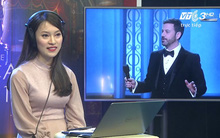 """Oscar 2017: Cô nàng """"bắn"""" 7 thứ tiếng Khánh Vy vinh dự khi được thuyết minh trực tiếp trên đài truyền hình"""