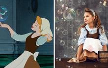 Nữ nhiếp ảnh gia tái hiện cảnh phim hoạt hình Disney trở thành hiện thực đẹp như mơ