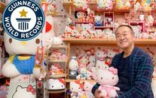 Bộ sưu tập Hello Kitty khổng lồ của người đàn ông Nhật Bản khiến hội con gái chết mê