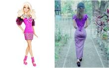 """Gặp cô """"búp bê Barbie"""" Myanmar này thì Ngọc Trinh cũng phải khóc thét vì vòng eo 56 của mình"""