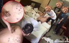 """Cảnh sát đăng ảnh vây bắt tội phạm, cư dân mạng cười lăn lộn khi nhìn thấy hình xăm trên vai """"đại ca giang hồ"""""""