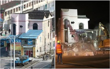"""""""Ngôi nhà cứng đầu"""" nhất Trung Quốc trở thành đống gạch vụn ngổn ngang sau 14 năm cố chấp nằm chễm chệ giữa đường"""