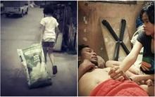 Thương bố nằm liệt giường bị mẹ bỏ rơi, bé gái 12 tuổi cặm cụi đi nhặt rác, chăm lo cho bố suốt 5 năm