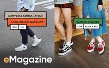 """Vans hay Converse - từ những đôi giày thời học sinh ai cũng có, cho đến thứ phụ kiện """"thần thánh"""" của bất cứ fashionista nào!"""