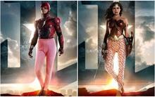 """""""Biệt đội siêu anh hùng"""" biến thành bộ sậu các bà thím bận quần hoa"""