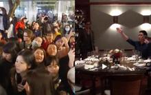 Seungri bảnh bao dùng bữa tối tại một nhà hàng, fan đồng loạt hát hit của Big Bang