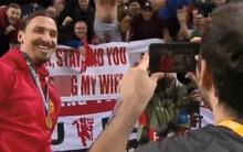 """""""Zlatan, hãy ở lại Man Utd và anh có thể ngủ với vợ tôi"""""""