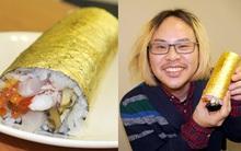 Có gì trong miếng sushi cuốn vàng trị giá 2,2 triệu đồng?