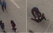 Người phụ nữ bị tát, chửi bới, đánh đập dã man nghi do ghen tuông