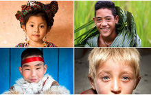 22 bức ảnh ấn tượng về gương mặt đặc trưng của người dân trên khắp thế giới