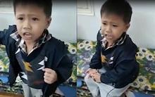"""Clip lời nhận lỗi dễ thương của bé trai: """"Con xin lỗi... để về ba dạy cho con trưởng thành hơn"""""""