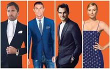 Ronaldo và những ngôi sao thể thao ăn mặc sành điệu nhất thế giới