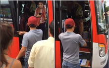 """Nhà xe đuổi khách nước ngoài: """"Du khách đã tự ý đổi ghế, bị nhắc nhở thì nhổ nước bọt vào mặt phụ xe"""""""