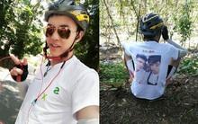 Muốn người yêu cũ quay lại, chàng trai quyết tâm đạp xe 1.800km đến tận nhà bạn gái tỏ tình