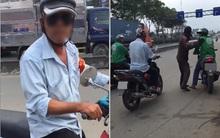 Clip: Cô gái trẻ bị tài xế xe ôm truyền thống bắt đi bộ gần cây số vì đặt Grab đến đón