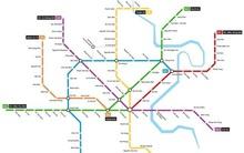 """Hình ảnh bản đồ 8 tuyến Metro kết nối toàn thành phố: Người Sài Gòn """"ngóng"""" tới lúc được đi lại tiện lợi, văn minh!"""