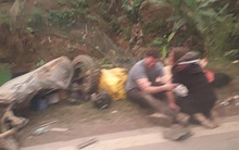 Nữ du khách nước ngoài tử vong sau va chạm với xe tải