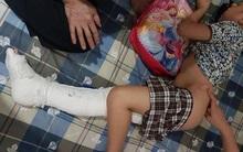 Không khởi tố hình sự vụ xe đâm gãy chân học sinh trường Nam Trung Yên