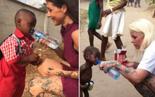 Cậu bé châu Phi gầy trơ xương bị bố mẹ bỏ đói cách đây 1 năm giờ ra sao?