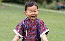 """Hóa thân thành bác sĩ, hoàng tử nhí Bhutan """"đốn tim"""" cư dân mạng"""